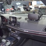 2017 Audi SQ5 dashboard side view at 2017 Dubai Motor Show
