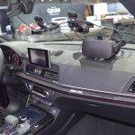 2017 Audi SQ5 dashboard side view at 2017 Dubai Motor Show