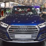 2017 Audi SQ5 front at 2017 Dubai Motor Show