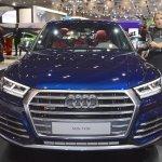 2017 Audi SQ5 front at 2017 Dubai Motor Show
