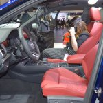 2017 Audi SQ5 front seats at 2017 Dubai Motor Show