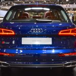 2017 Audi SQ5 rear at 2017 Dubai Motor Show