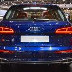 2017 Audi SQ5 rear at 2017 Dubai Motor Show