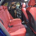 2017 Audi SQ5 rear seats at 2017 Dubai Motor Show