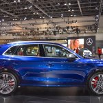 2017 Audi SQ5 right side at 2017 Dubai Motor Show