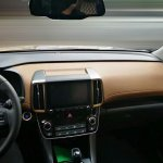 2017 Hyundai ix35 interior dashboard spy shot