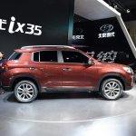 2017 Hyundai ix35 right side live image