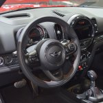 2017 MINI John Cooper Works Countryman dashboard at 2017 Dubai Motor Show