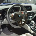 2018 BMW M5 dashboard at 2017 Dubai Motor Show