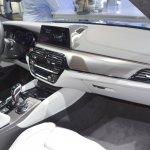2018 BMW M5 dashboard passenger side view at 2017 Dubai Motor Show