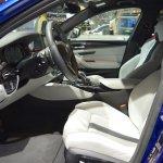 2018 BMW M5 front seats at 2017 Dubai Motor Show