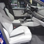 2018 BMW M5 front seats passenger side view at 2017 Dubai Motor Show