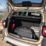 2018 Dacia Duster international media drive boot space