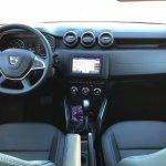 2018 Dacia Duster international media drive dashboard