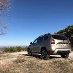2018 Dacia Duster international media drive rear angle view