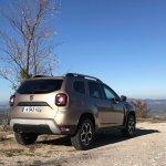 2018 Dacia Duster international media drive rear three quarters