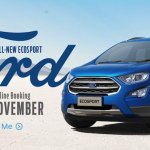 2018 Ford EcoSport Amazon bookings banner