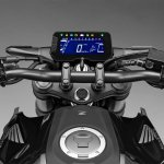2018 Honda CB300R press shot instrument cluster