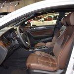 2018 Hyundai Sonata Hybrid (facelift) front seats at 2017 Dubai Motor Show