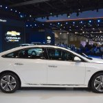 2018 Hyundai Sonata Hybrid (facelift) right side at 2017 Dubai Motor Show