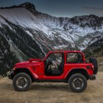 2018 Jeep Wrangler Rubicon profile