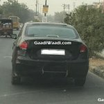 2018 Maruti Ciaz (facelift) rear in motion spy shot