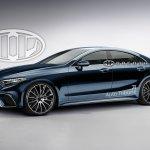 2018 Mercedes AMG CLS rendering