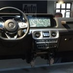 2018 Mercedes-Benz G-Class dashboard leaked