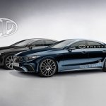 2018 Mercedes CLS and Mercedes AMG CLS rendering