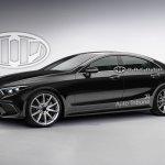 2018 Mercedes CLS rendering