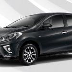 2018 Perodua Myvi front three quarters