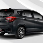 2018 Perodua Myvi rear three quarters