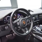 2018 Porsche Cayenne Turbo dashboard at 2017 Dubai Motor Show