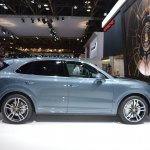 2018 Porsche Cayenne Turbo right side at 2017 Dubai Motor Show