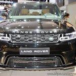 2018 Range Rover Sport at Dubai Motor Show 2017 front
