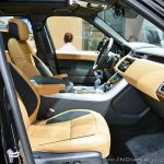 2018 Range Rover Sport at Dubai Motor Show 2017 interior