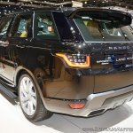 2018 Range Rover Sport at Dubai Motor Show 2017 left rear three quarters