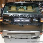 2018 Range Rover Sport at Dubai Motor Show 2017 rear