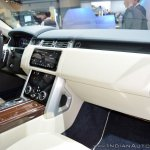 2018 Range Rover at Dubai Motor Show 2017 dashboard
