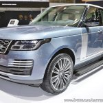 2018 Range Rover at Dubai Motor Show 2017 front three quarters