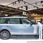 2018 Range Rover at Dubai Motor Show 2017 side