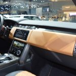 2018 Range Rover (facelift) SVAutobiography Dynamic dashboard side view at 2017 Dubai Motor Show