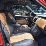 2018 Range Rover (facelift) SVAutobiography Dynamic front seats right side at 2017 Dubai Motor Show
