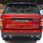 2018 Range Rover (facelift) SVAutobiography Dynamic rear at 2017 Dubai Motor Show