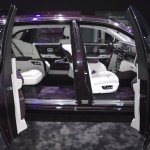 2018 Rolls-Royce Phantom EWB cabin at 2017 Dubai Motor Show