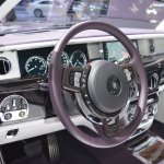 2018 Rolls-Royce Phantom EWB dashboard at 2017 Dubai Motor Show