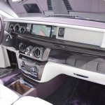 2018 Rolls-Royce Phantom EWB dashboard passenger side view at 2017 Dubai Motor Show