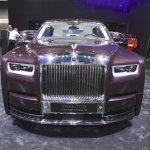 2018 Rolls-Royce Phantom EWB front at 2017 Dubai Motor Show