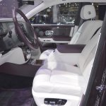 2018 Rolls-Royce Phantom EWB front seats at 2017 Dubai Motor Show