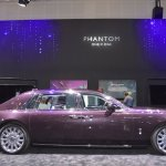 2018 Rolls-Royce Phantom EWB profile at 2017 Dubai Motor Show